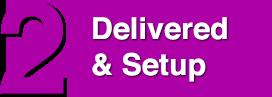 Page Header - 2 Delivery & Setup