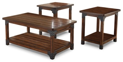 Murphy 3 Piece Coffee And Two End Tables Package