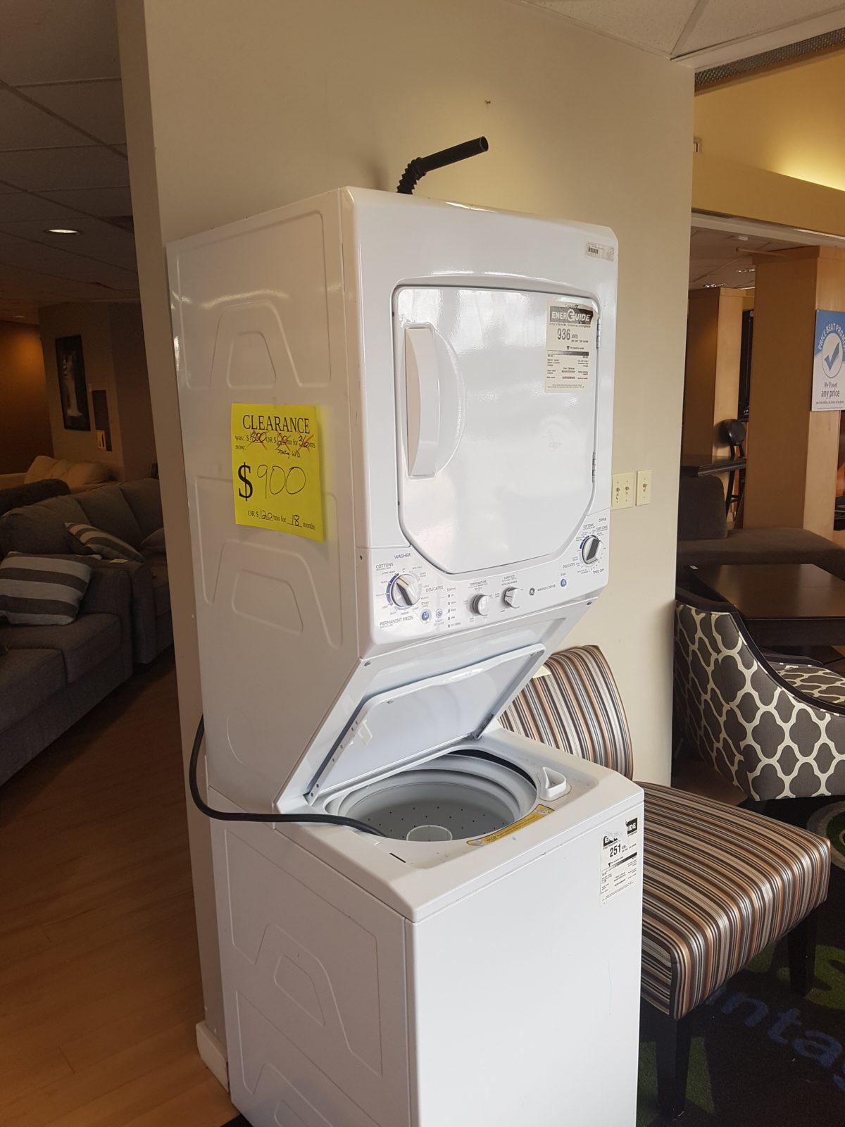 apartment washer dryer stack freedom rent to own