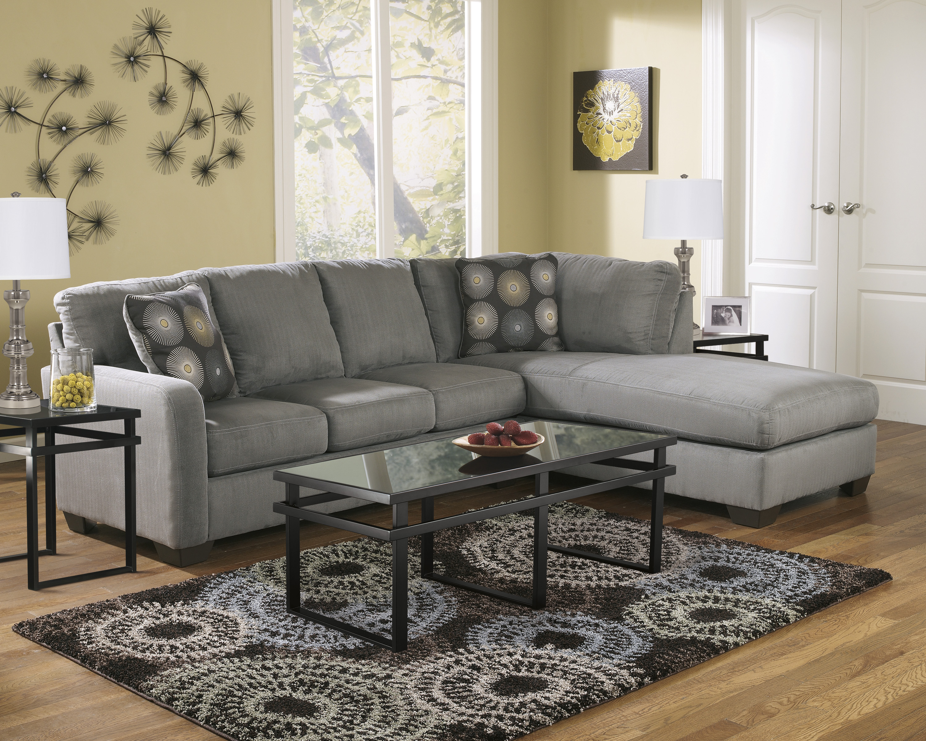 Zella Corner Chaise Sectional Freedom Rent To Own